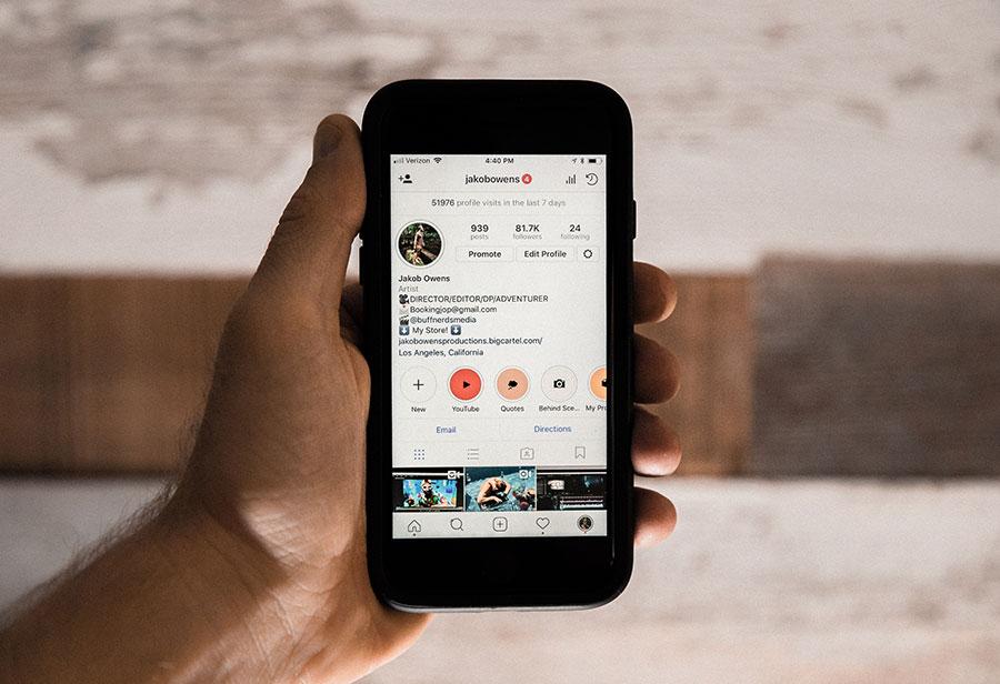 berkreatif dalam upload foto dan video