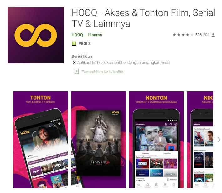 Aplikasi Streaming Film Android