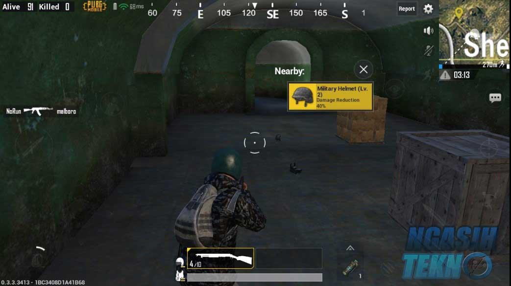 cara mudah mendapatkan chicken dinner di pubg mobile