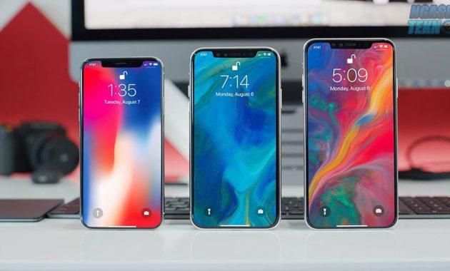 smartphone yang mirip iphone x