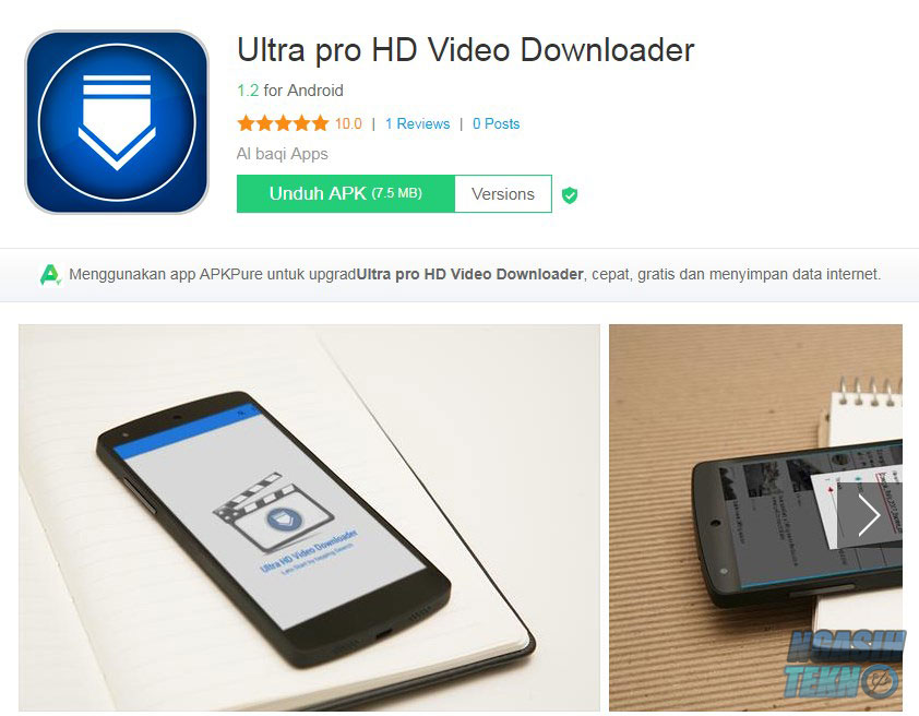 aplikasi download video terbaik di android
