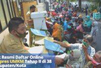 Link Resmi Daftar Online Banpres UMKM Tahap II di 38 Kabupaten