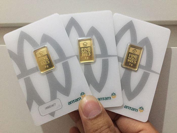Harga Emas Antam Rabu, 2 Juni 2021: Turun Rp 4.000 Jadi Rp 961.000 per Gram
